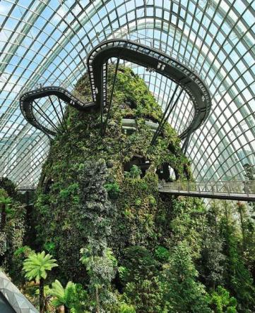 Cooled Conservatories At Gardens By The Bay Singapura Arsitek Wilkinson Eyre Architects London United Kingdom Gitahastarika S Weblog